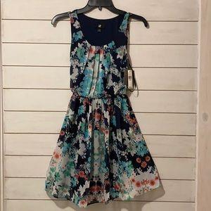 NWT Cute Flowered Dress